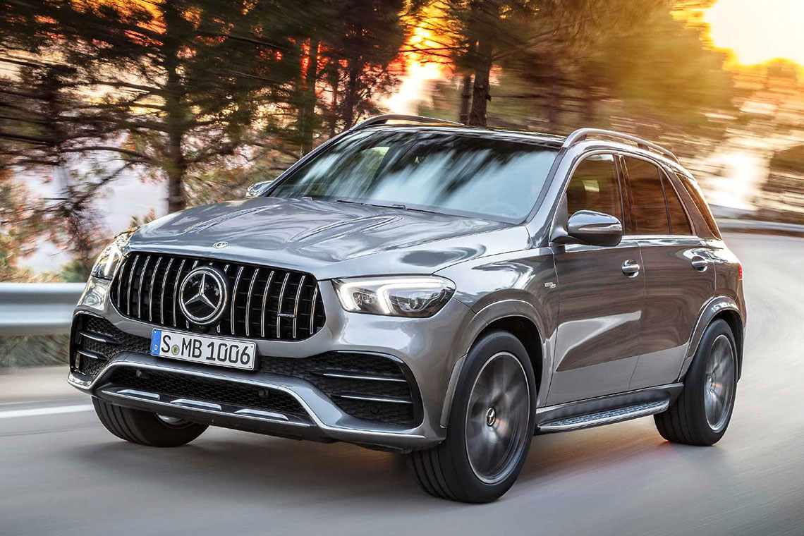 Boitier additionnel pour Mercedes GLE 53 AMG